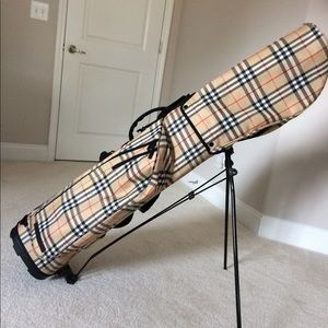Burberry Bags - Burberry Golf Bag Classic Check (Authentic) 38ddcd882486b